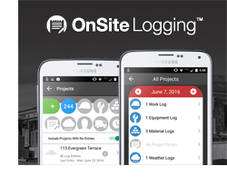 OnSite Logging Updates for Android