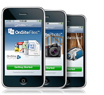 OnSite Mobile Apps for iPhone