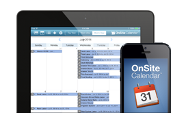 New OnSite Calendar Mobile App Available for iPhone and iPad