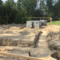Custom Home in Blythewood Under Construction