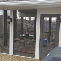 Apple Valley Screen Porch and Deck