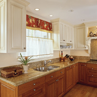 Provincial Townhouse Kitchen